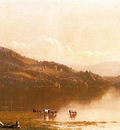 Gifford Sanford Robinson Mt  Merino on the Hudson near Olana