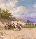 Gimenez Baldomero Galofre Y The Gypsy Camp
