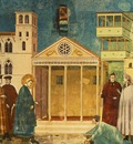 Giotto Legend of St Francis [01] Homage of a Simple Man