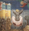Giotto Legend of St Francis [12] Ecstasy of St Francis