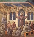 Giotto Legend of St Francis [18] Apparition at Arles