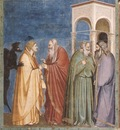 Giotto Scrovegni [28] Judas Receiving Payment for his Betrayal