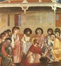 Giotto Scrovegni [30] Washing of Feet