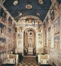 Giotto Scrovegni Description of the frescoes view from the entrance