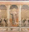 Giotto Life of Saint Francis [03] Apparition at Arles