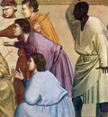 Giotto Scenes from the Life of Christ  17  Flagellation Det