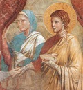 Giotto Scenes from the Old Testament  Isac Blessing Jacob,