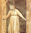 Giotto The Seven Vices Desperation, 1306, 120x60 cm, Arena