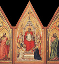 Giotto The Stefaneschi Triptych c1330 detail1 verso