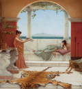 Godward The Sweet Siesta of a Summer Day