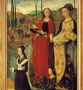Goes The Portinari Triptych, ca 1475, Right panel Maria Bon