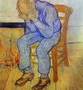 Vieil homme en pleurs