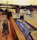 Gogh van Vincent Le pont de Trinquetaille Sun