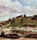Van Gogh Vincent Montmartre the Quarry and Windmills