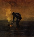 Van Gogh Vincent Peasant Burning Weeds