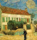 Van Gogh White House at Night