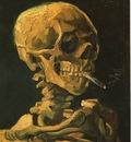 gogh skull cigarette