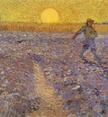 van Gogh Sower with setting sun, 1888, 64x80 5 cm, Rijksmuse