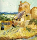 van Gogh The old mill,1888, 64 5x54 cm, Albright Knox Art Ga