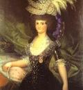 Francisco de Goya Queen Maria Luisa
