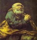 Francisco de Goya St  Peter Repentant