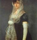 Francisco de Goya The Booksellers Wife