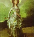Francisco de Goya The Marquesa de Pontejos