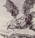 Goya Contra el bien general, Plate 71 from Los desastres de