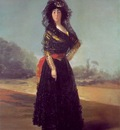 Goya Duchess of Alba, 1797, 210 2x149 3 cm, Hispanic Society