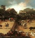 Goya The Bullfight, oil on canvas, Metropolitan Museum of Ar