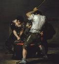 Goya The Forge, c 1815 1820, 181 6x125 1 cm, Frick coll  NY