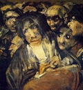Goya The Great He Goat or Witches Sabbath, ca 1821 23, Detal