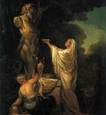 Il sacrificio a Pan  1771  Collezione privata