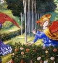 Benozzo Gozzoli Ange ramassant des fleurs dans un paysage celeste, De