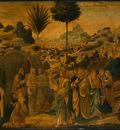 Gozzoli The Raising of Lazarus, probably 1497, 65 5x80 5 cm,