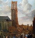Grasdorp Jan Collapsed tower of church Sun