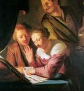 Grebber de Pieter Musicians Sun