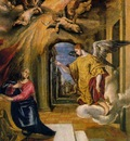 El Greco The annunciation Paint on board 49 x 37 cm Museo