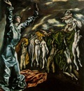El Greco The opening of the Fifth Seal of the Apocalypse ca