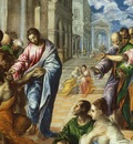 The Miracle of Christ Healing the Blind, El Greco 1600x120