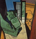 Gris The Breakfast, 1915, 92x73 cm, Musee National dArt Mod