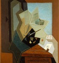 Gris The painters window, 1925, 100x81 cm, The Baltimore Mu