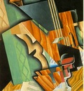 Gris Violin and glass, 1915, 92x60 cm, Fogg Art Museum, Harv