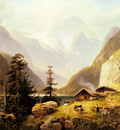 Hacker Horst An Alpine Valley