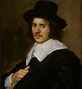 HALS PORTRAIT OF A MAN, 1648 1650, NGW