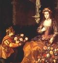 van der hamen offering to flora