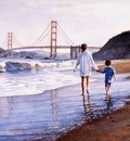 Steve Hanks Morning at Bakers Beach, De