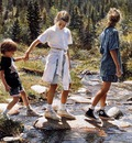 Steve Hanks Stepping Stones, De