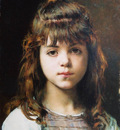 Harlamoff Alexj Young Girl