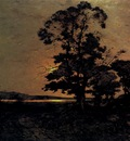 Harpignies Henri Moonlight On The Loire
